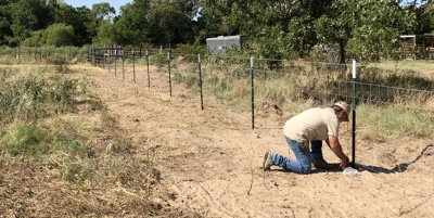 fencing installation, East Texas